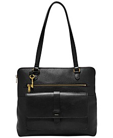Kinley Leather Shopper