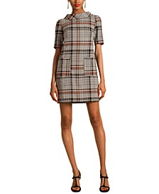 Maleko Plaid Sheath Dress
