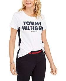 Cotton Rubberized Logo T-Shirt