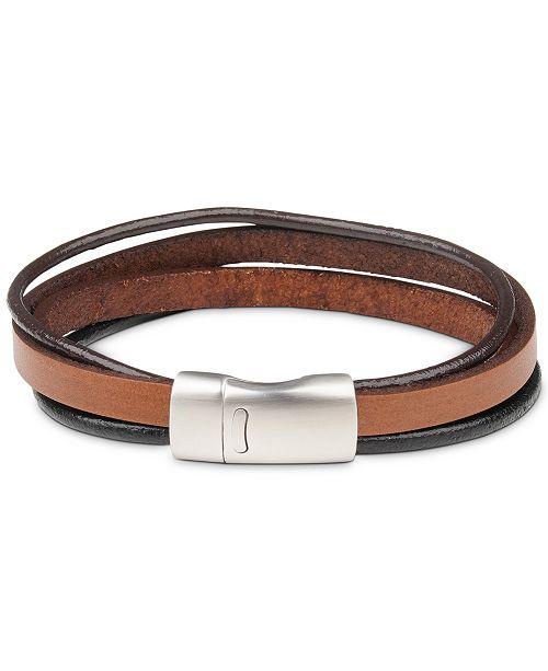 Bespoke Men's Leather Bracelet