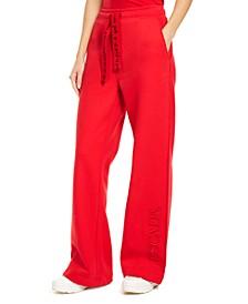 x Rita Ora Cotton Wide-Leg Trousers