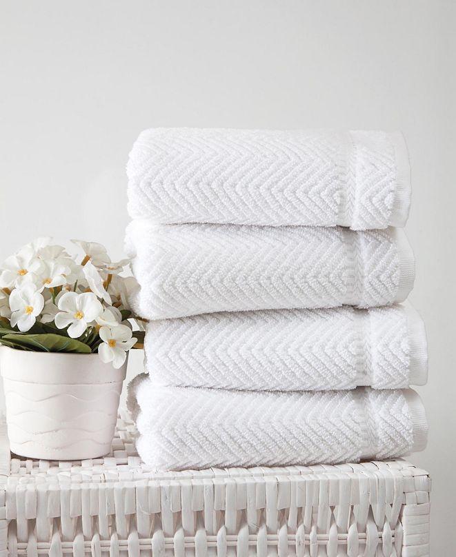 OZAN PREMIUM HOME Maui 4-Pc. Hand Towel Set