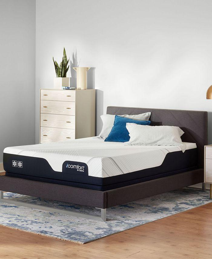 """Serta - iComfort CF 2000 11.5"""" Firm Mattress Set- Twin XL"""