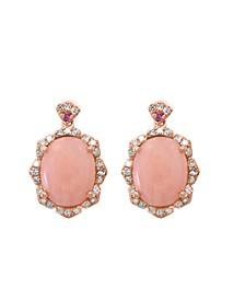 EFFY® Multi Gemstone (3 5/8 ct.t.w.) Earring in 14K Rose Gold