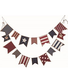 Multicolor 4th of July Americana Banner