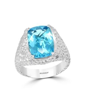 Effy Blue Topaz (3-5/8 ct. t.w.) Ring in Sterling Silver