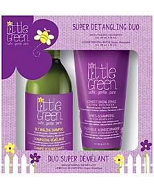 Little Green Kids Super Detangling Duo Set of 2, 14 oz