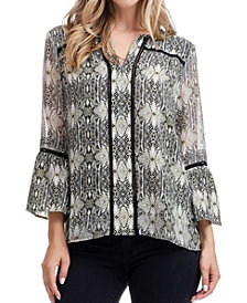 Fever Bell Sleeve Top