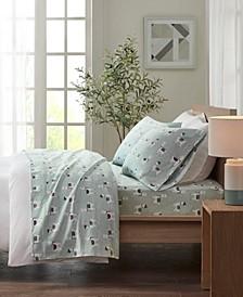 True North Cotton Flannel 3-Piece Twin Sheet Set