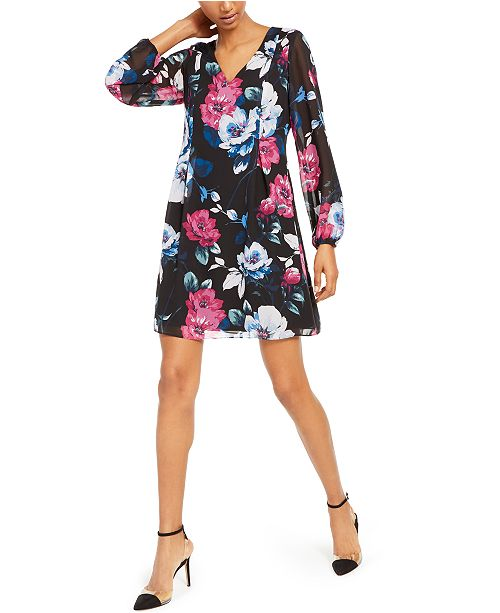 INC International Concepts INC Bow-Back Shift Dress, Created For Macy's