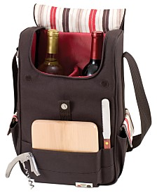 Legacy® by Picnic Time Volare Moka Wine Tote