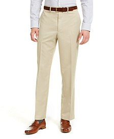 Men's Classic-Fit Performance Solid Classic Dress Pants