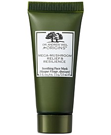 Receive a Free Mega Mushroom Mask, 15ml with any $45 purchase