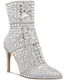 Women's Crossing Rhinestone Booties