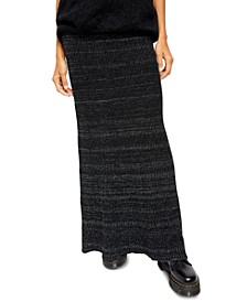 Shine Bright Maxi Sweater Skirt
