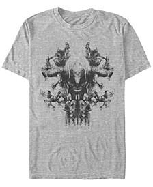 Men's Avengers Endgame Smokey Skull, Short Sleeve T-shirt
