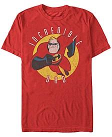 Pixar Men's Incredibles Super Dad, Short Sleeve T-Shirt