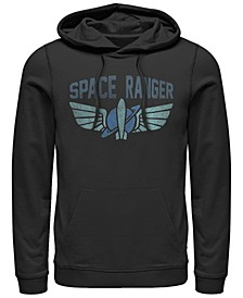 Men's Toy Story Space Ranger Star Command Logo, Pullover Hoodie