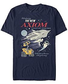 Pixar Men's Wall-E the New Axiom, Short Sleeve T-Shirt