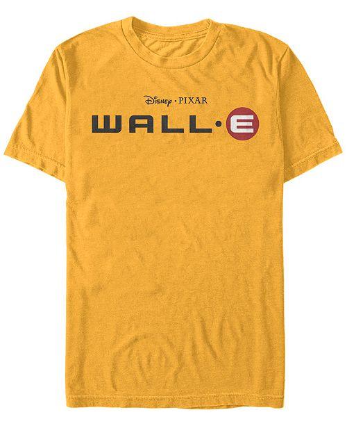 Disney Pixar Men's Official Wall-E Movie Logo, Short Sleeve T-Shirt