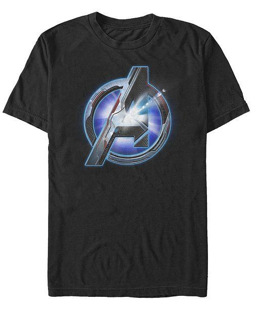 Marvel Men's Avengers Endgame Sunshine Logo, Short Sleeve T-shirt