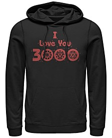 Men's Avengers Endgame I Love You 3000 Circuits, Pullover Hoodie