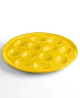 Sunflower Egg Plate