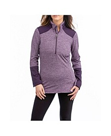 Basil Quarter Zip Sweater