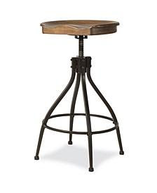 Furniture Worland Adjustable Swivel Backless Stool