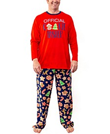 Matching Men's Baking Team Pajama Set, Online Only