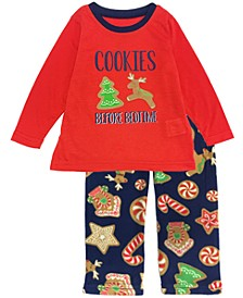 Matching Toddler Boys and Girls Baking Team Pajama Set, Online Only