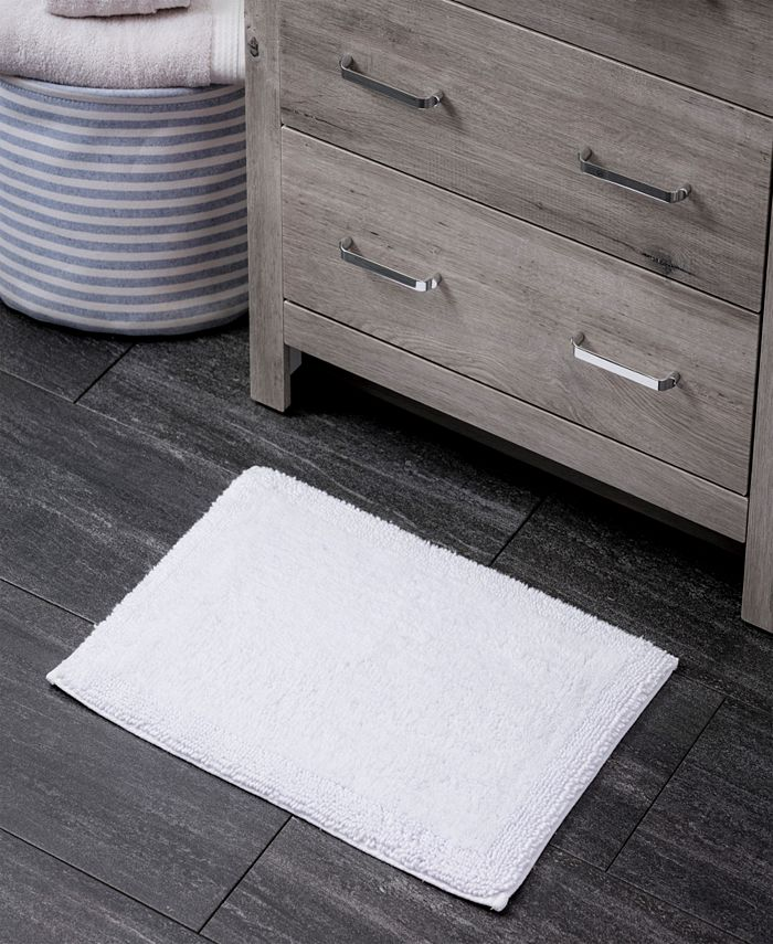 "Welhome - Turkish Cotton 17"" x 24"" Bath Rug"
