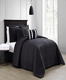 Yardley 8-Piece Embossed Twin Bedding Set