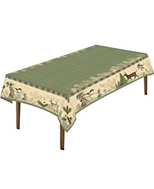 "Woodland Forest Tablecloth - 70""x 84"""