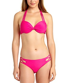 Underwire Push-Up Bikini Top & Hipster Bottoms, Created for Macy's