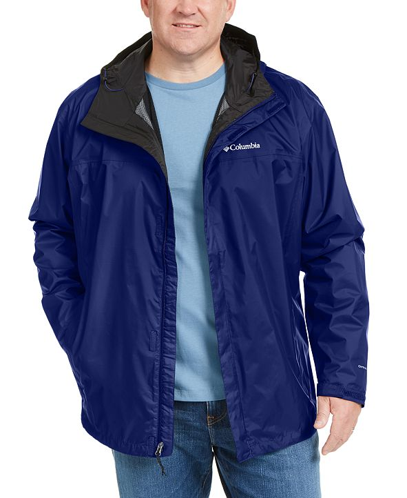 Columbia Men's Big & Tall Watertight II Packable Jacket