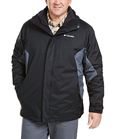 Columbia Men's Big & Tall Eager Air 3-in-1 Omni-Shield Jacket