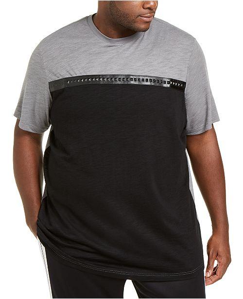 INC International Concepts INC Men's Big & Tall Pyramid T-Shirt, Created For Macy's