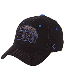 Brigham Young Cougars Black Element Stretch Fitted Cap