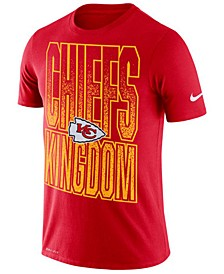 Men's Kansas City Chiefs Dri-Fit Cotton Mezzo Local Verbiage T-Shirt