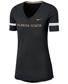 Women's Florida State Seminoles Fan V-Neck T-Shirt