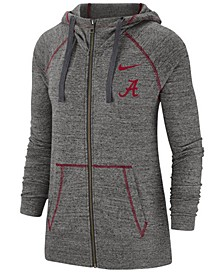 Women's Alabama Crimson Tide Gym Vintage Full-Zip Jacket