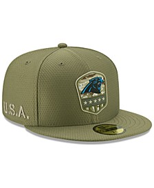 Carolina Panthers On-Field Salute To Service 59FIFTY-FITTED Cap