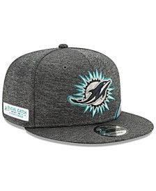 Miami Dolphins On-Field Crucial Catch 9FIFTY Snapback Cap