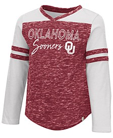 Toddlers Oklahoma Sooners Pipsqueak Long Sleeve T-Shirt