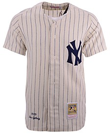 Men's Lou Gehrig New York Yankees Authentic Wool Jersey