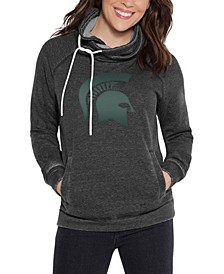 Women's Michigan State Spartans Cowl Neck Sweatshirt