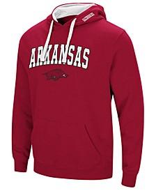 Men's Arkansas Razorbacks Arch Logo Hoodie