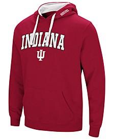 Men's Indiana Hoosiers Arch Logo Hoodie