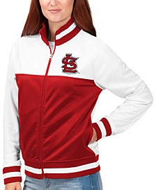 Women's St. Louis Cardinals Face Off Track Jacket